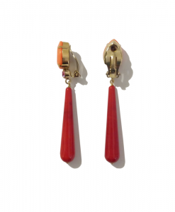 clip long rouge orange ferrandis