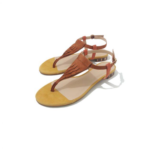 MELLOW YELLOW Sandale BRAD Camel