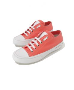 sneakers femme candice cooper cuir corail