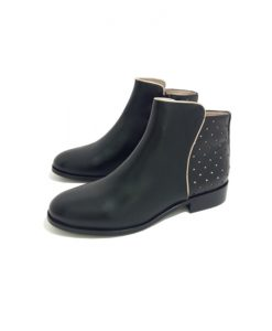 BOTTINES Plates Noires MELLOW YELLOW