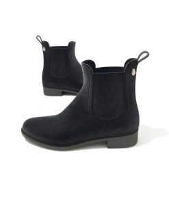 BOTTINES Pluie VELVETY Gris LEMON JELLY