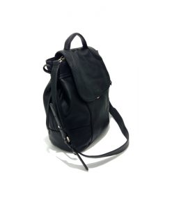 Sac Main Cuir Noir KATE LEE Tina