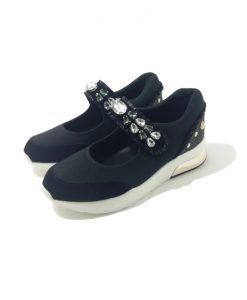 SNEAKERS Bijoux Noir LIU JO Shoes Lily