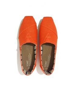 CHAUSSURES Femme Orange Toile TOMS
