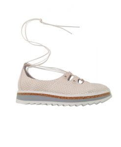 PHILIPPE MORVAN Chaussures Femme Lacées Beige