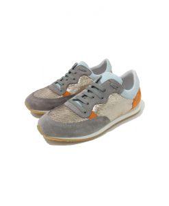 REQINS Sneakers Paillettes Elvis Ciel Orange
