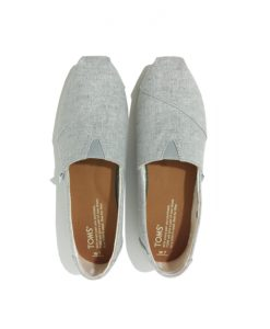 TOMS Classic Chambray Gris Slip on