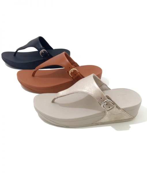 FITFLOP Skinny Toe Mules Tongs Femme
