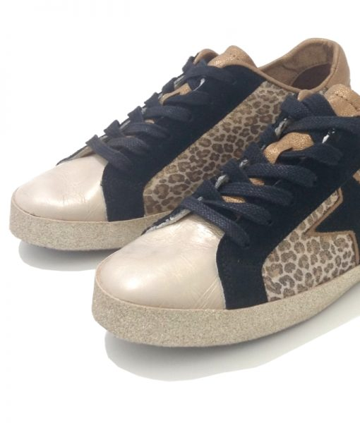 REQINS Sneakers Femme Léopard Sena