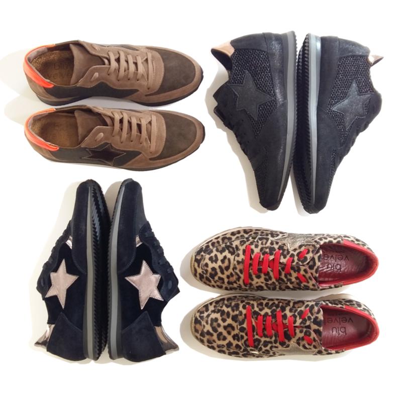 marque BLU VELVET Sneakers tendance hiver