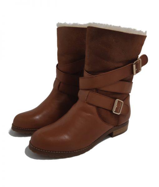 MELLOW YELLOW Boots Fourrées Camel