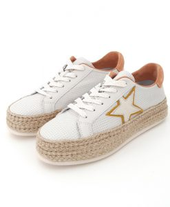 CHAUSSURES REQINS Shadow Stella Mix Cuir