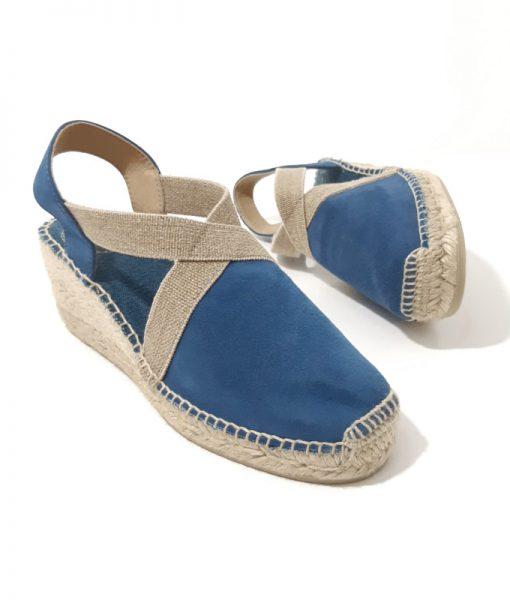 ESPADRILLE Bleu Jeans TONI PONS Tona