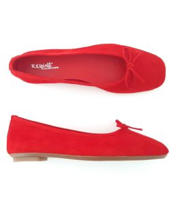 REQINS BALLERINES Couleur ROUGE Harmony