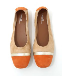 BALLERINES REQINS été Honey Orange