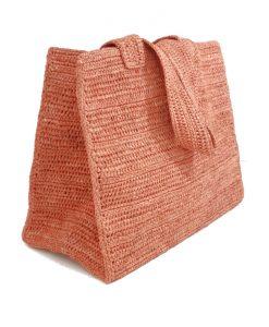 SAC Panier Crochet Raphia IVAHONA