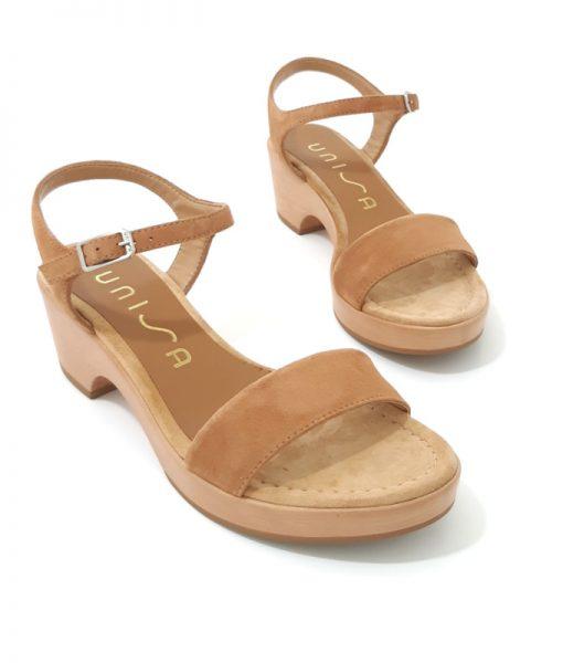 UNISA Sandale Irita Cuir Naturel