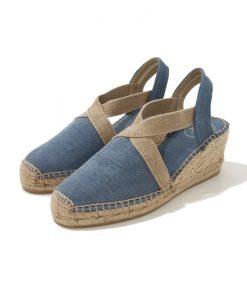 ESPADRILLE Bleu Jeans TONI PONS Terra V