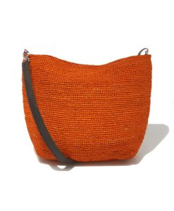 PETIT SAC a MAIN Femme Orange