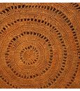 SAC Femme Rond Crochet Raphia