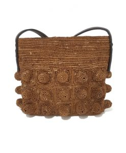 SAC a MAIN Ethnique Raphia Naturel