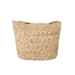 SAC Crochet Raphia Naturel IVAHONA