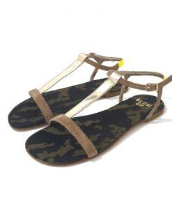 SANDALES BLOW UP Nico Moka Camouflage