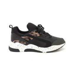 SNEAKERS Dad Shoes REQINS Walter Noir Beige