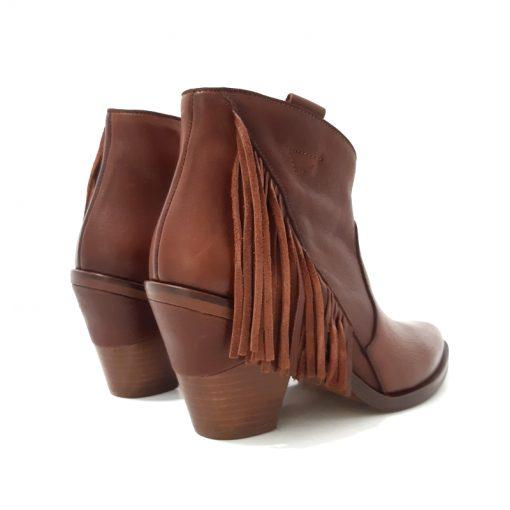 BOOTS Frange Camel Style Santiag KANNA
