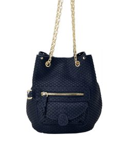 Petit SAC Cuir Marine KATE LEE