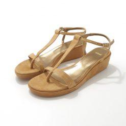 Sandales compensées Cuir NIMAL