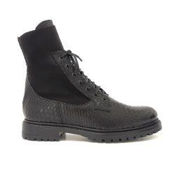 Boots Lacets Noir Reqins Evita Scale