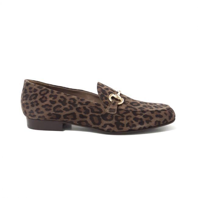 MOCASSINS Femme imprimé Leopard