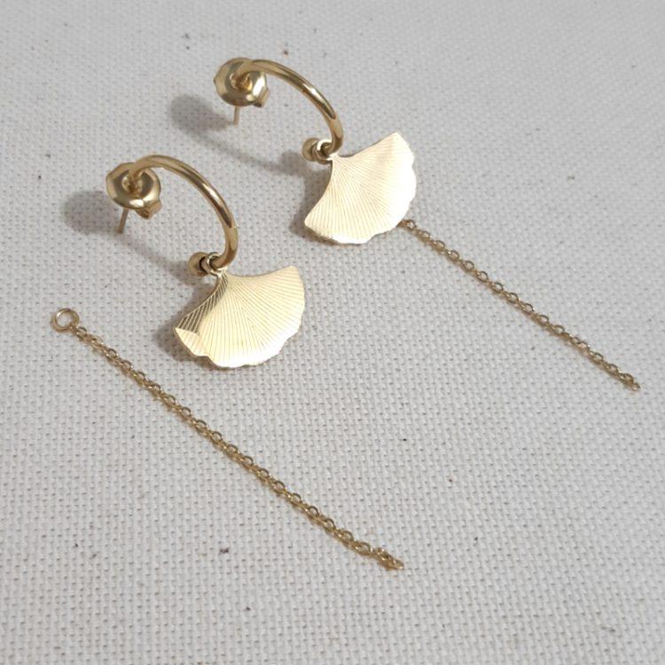 Boucles d' oreilles originales Pampille