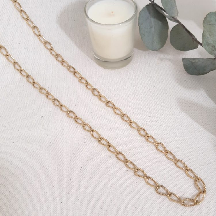 Collier Chaîne Grosse Maille