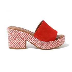 Mules 2411 Rouge